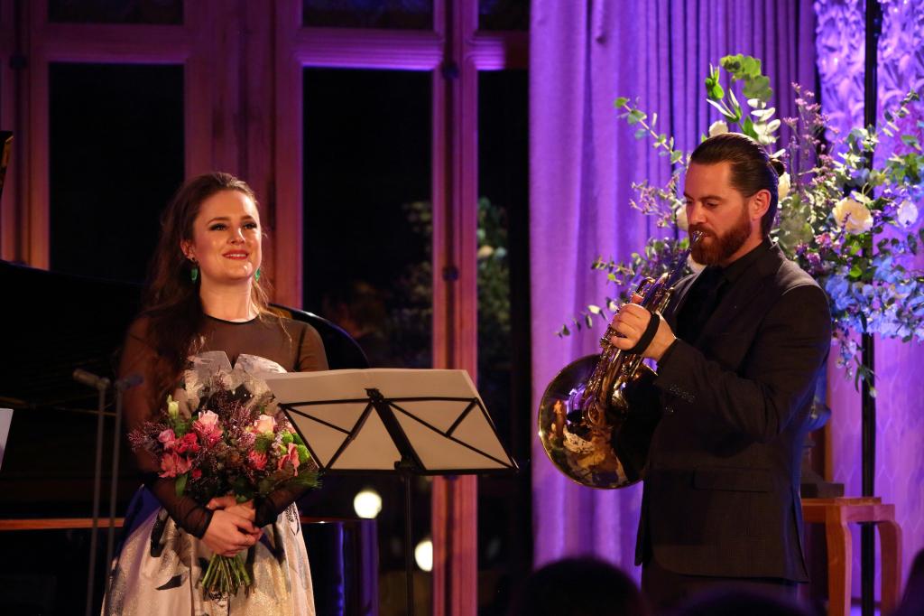 Louise Alder y Stef van Herten